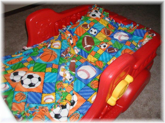 Toddler or Crib Fleece Bedding Set