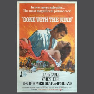 Movie Poster - GONE WITH THE WIND