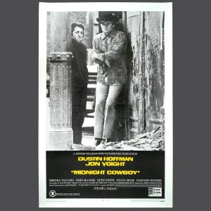 Movie Poster - MIDNIGHT COWBOY - Original X-Rated 1969 1-Sheet