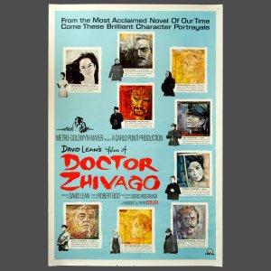 Movie Poster - DR. ZHIVAGO - Original Style C 1-Sheet