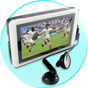 High Definition MP4 Player with 3 Inch LCD -4GB [VSL-100-4G]