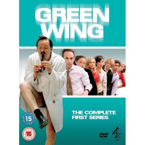 Green Wing Series 1 DVD