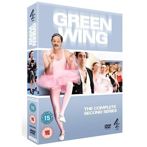 Green Wing Series 2 DVD