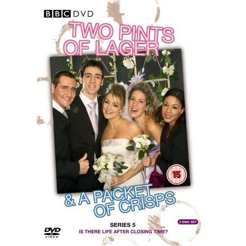 Two Pints of Lager & a Packet of Crisps Series 5 DVD