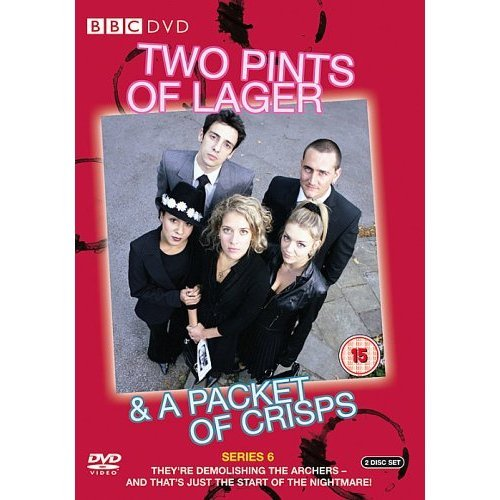 Two Pints of Lager & a Packet of Crisps Series 6 DVD