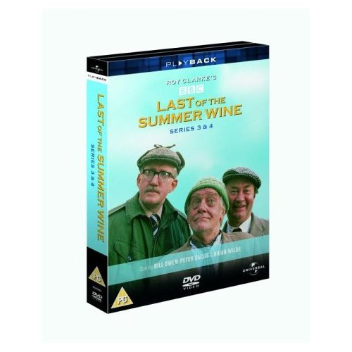 Last of the Summer Wine Series 3 & 4 DVD