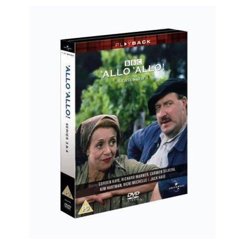 Allo Allo Series 3 & 4 DVD