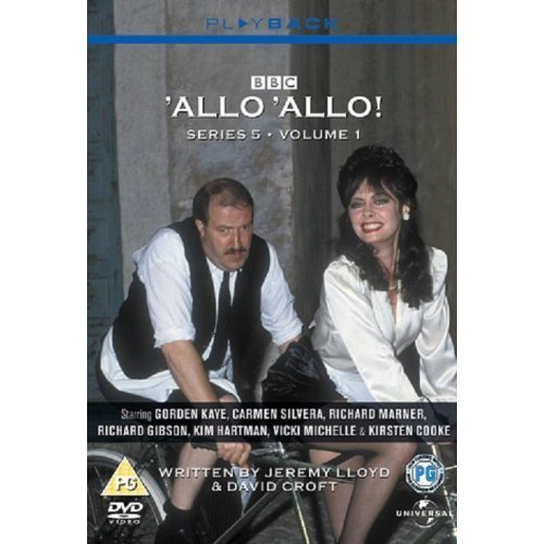 Allo Allo Series 5 Vol. 1 DVD