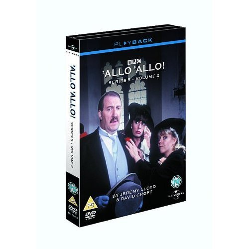Allo Allo Series 5 Volume 2 DVD
