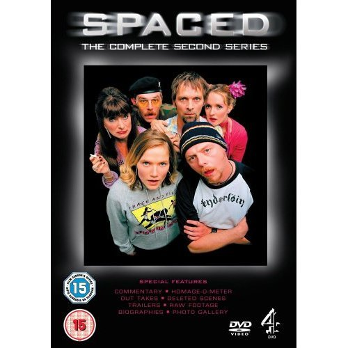 Spaced Series 2 Simon Pegg DVD