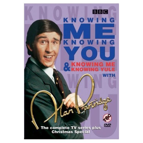 Knowing Me Knowing You with Alan Partridge Complete Series plus Christmas Special DVD