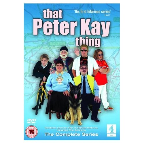 That Peter Kay Thing Complete Series DVD