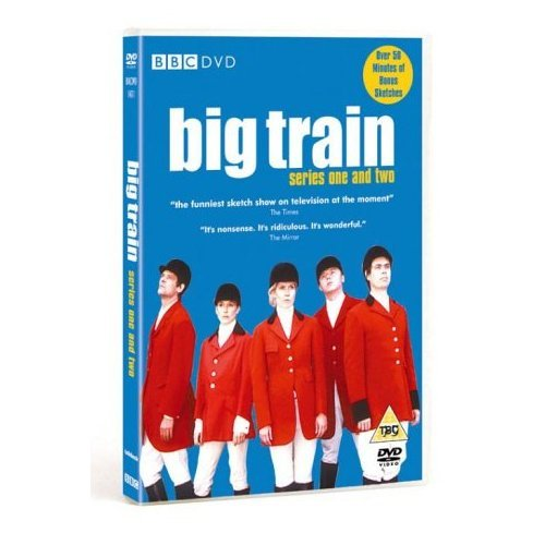 Big Train Series 1 and 2 DVD