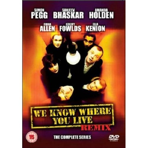 We Know Where You Live Simon Pegg Complete Series DVD