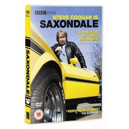 Saxondale Steve Coogan Series 1 DVD