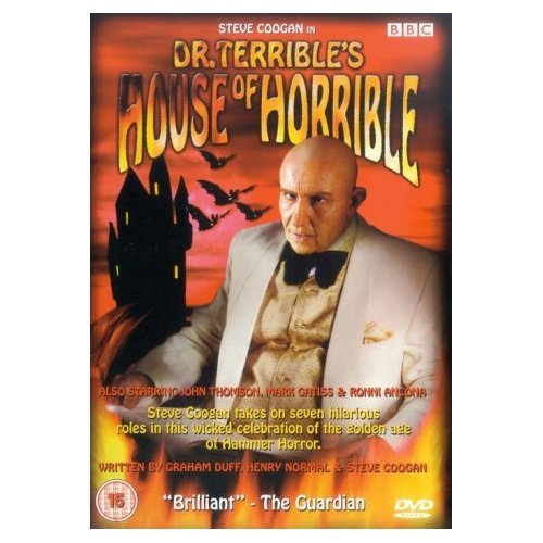 Doctor Terrible's House of Horrible Steve Coogan Series 1 DVD