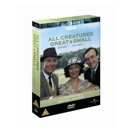 All Creatures Great and Small Series 1 Part 1 DVD