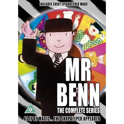 Mr Benn Complete Series DVD