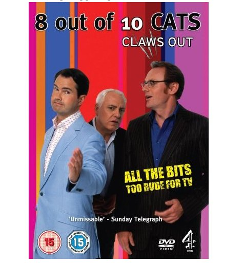 8 Out Of 10 Cats: Claws Out DVD
