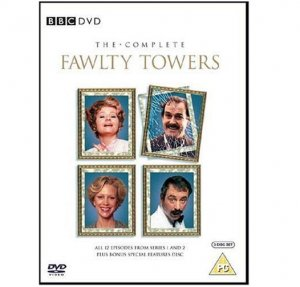 The Complete Fawlty Towers DVD