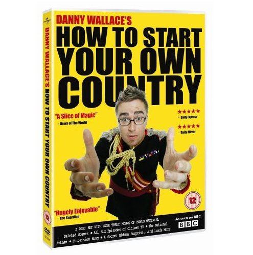 Danny Wallace's How To Start Your Own Country DVD