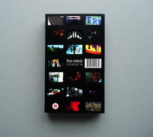 THE VERVE THE VIDEO 96 -98 RARE OOP VHS