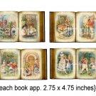 1930s Alice in Wonderland....Altered Antique Books...Digital Collage sheet