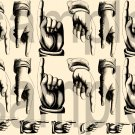Victorian Pointing Hands Graphic...A Necessity.... Digital Collage Sheet