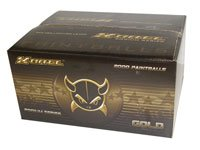 Xball Gold 2000 round case
