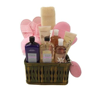 Bath And Body Works Lavish Vanilla and Lavender Gift Basket