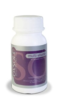 Oxsole Multi Vitamin (60 Capsules - 1 month supply) FREE SHIPPING