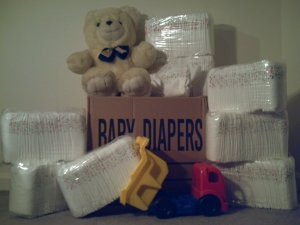 Rainbow Diapers  Case  240ct.