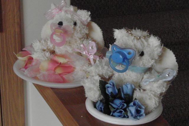 Newborn Baby Angel Bears - SCENT - Baby Powder
