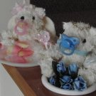 Newborn Baby Angel Bears - SCENT - Baby Powder