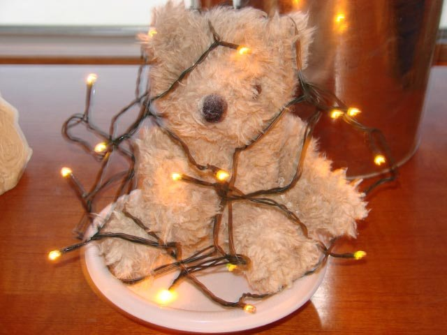 Teddies Tangled Mess  - SCENT- Christmas Splendor