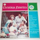 Christmas Favorites from Tops Orchestra and Choristers 33 RPM Vinyl LP 1957