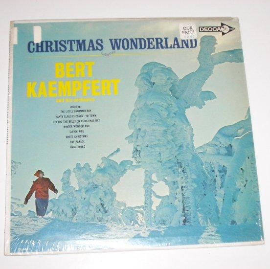 Christmas Wonderland by Bert Kaempfert and His Orchestra Vinyl LP