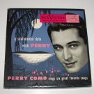 Perry Como Boxed Set of 3 Vinyl Record Albums A Sentimental Date ~1947