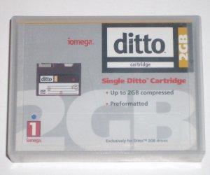 2GB IOMega Ditto Max Cartridge Compressed DITTO2 10733
