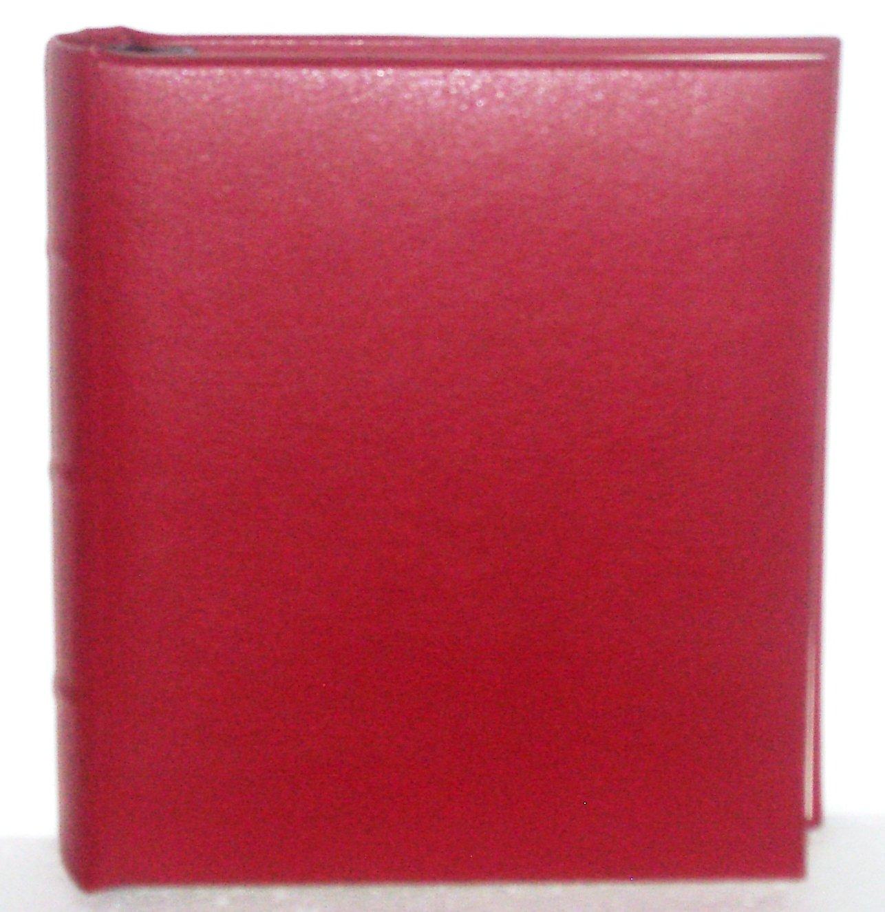 Red Mini Photo Album for 4x6 Photos