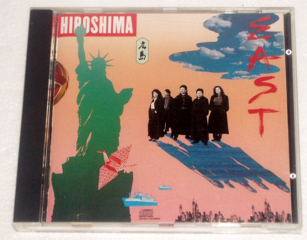 East by Hiroshima Audio CD 1990