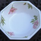 Johnson Brothers English China Octagon Serving Bowl Spring Morning Pattern