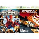 Marvel Ultimate Alliance & Forza 2 Video Games for Xbox 360