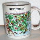 Vintage New Jersey NJ Coffee Cup Mug CityMugs Freehold Trenton AC Philly Rosie's