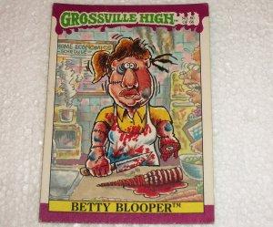 Grossville High Trading Card 60/66 Betty Blooper