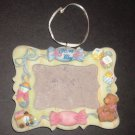 """It's a Boy Picture Frame For 3"""" x 2"""" Photo with Train, Bear, Blocks, Rattle for Wall or Table"""
