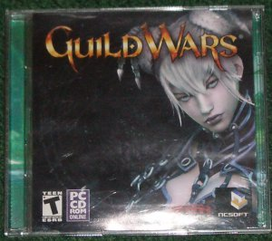 Guild Wars Video Game for PC 2005 NCSoft Original