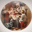 Norman Rockwell Plate The Toy Maker Limited Edition 1977 Heritage Series