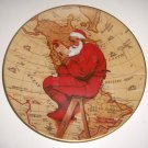Norman Rockwell Plate Santa Plans His Visit Limited Edition 1981 Christmas Series
