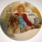 "Little Orphan ""Annie and Sandy"" Plate 1st Issue in Series 1983 Knowles China Ltd Ed"